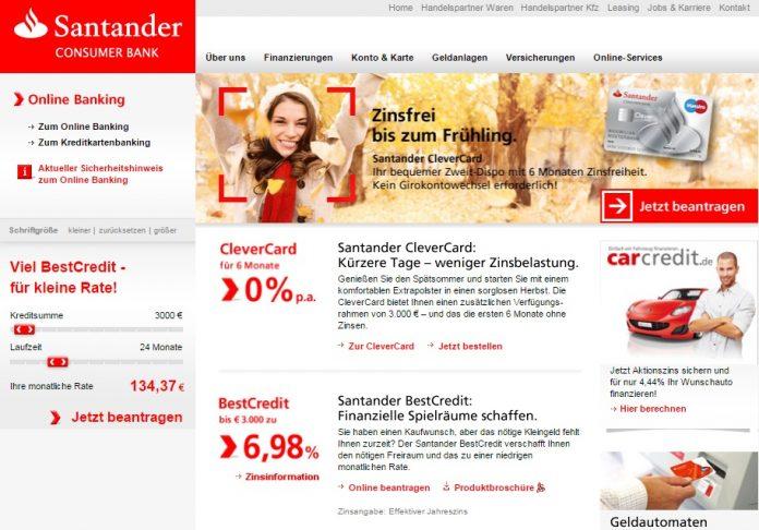 Santander Bank Wilhelmshaven Offnungszeiten