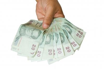 Geld zur Hand