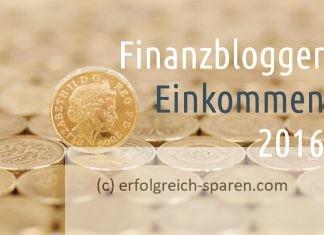 Finanzblogger-Einkommen 2016