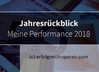 Jahresrückblick: Performance 2018